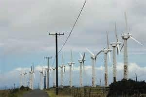 Abandoned Kamoa Wind Farm Hawaii