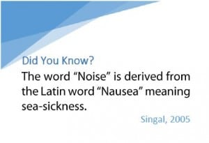 Noise & Urbanization - Did you Know
